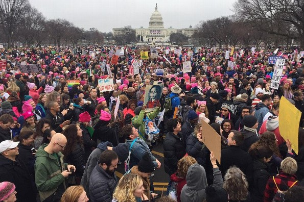 Celebridades marchan contra Donald Trump ¡en la #WomensMarch! (VIDEO+FOTOS)