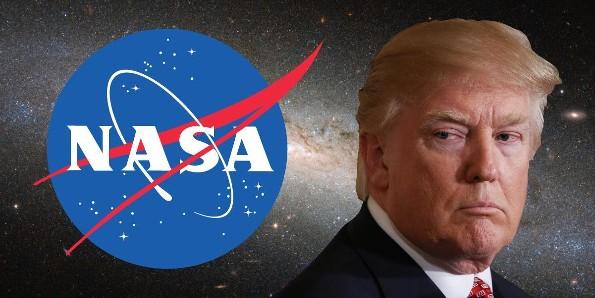 Para Trump, lo que hace la NASA no es tan importante ¡y le quita presupuesto!