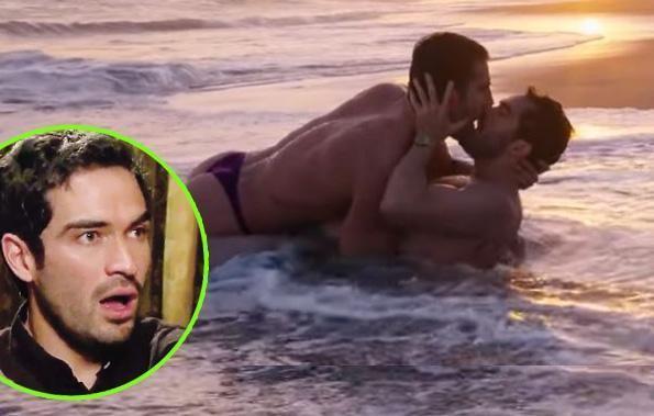 ¡OMG! Alfonso Herrera y Miguel Ángel Silvestre protagonizan ardiente escena gay