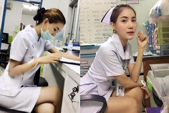 Obligan a enfermera a renunciar ¡por ser demasiado sexy! (+FOTOS)
