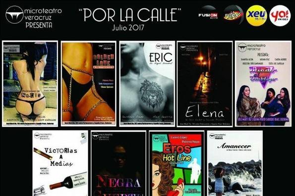 Microteatro Veracruz presenta:
