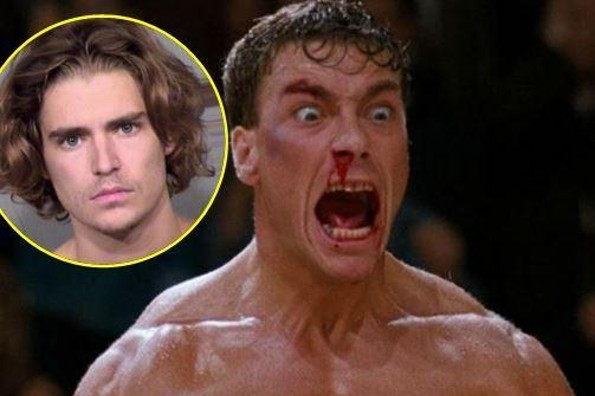 Arrestan a hijo de Jean-Claude Van Damme ¡por cuatro delitos!