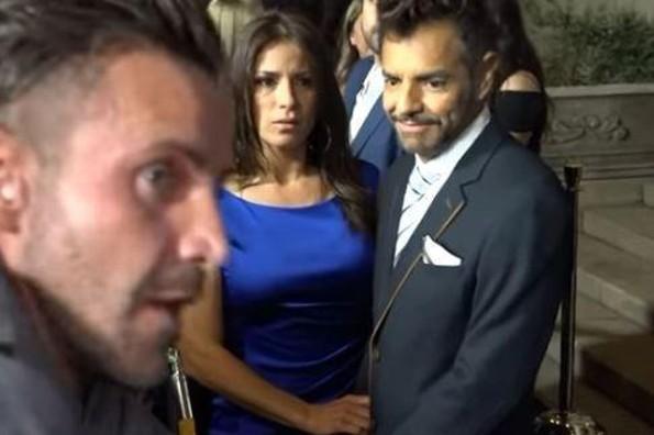 Eugenio Derbez, testigo del cachetadón de Eduardo Yáñez, defiende al actor (+VIDEO)