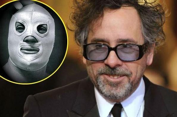 Tim Burton se declara fan del Santo y de México