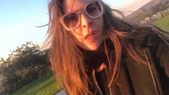 Kate del Castillo abandona su casa en Los Ángeles por incendio (+VIDEO)