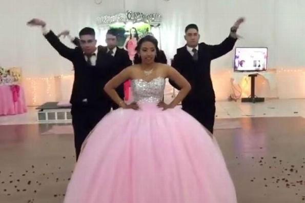 Viral: QUinceañera sorprende bailando vals al estilo de Scooby Doo Papa (+VIDEO)