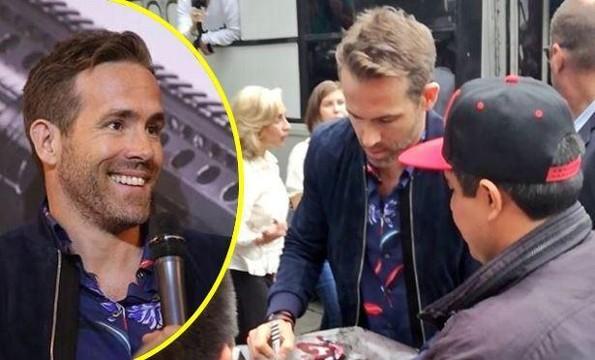 Ryan Reynolds pasea en microbús durante su divertida visita a México (+VIDEO)
