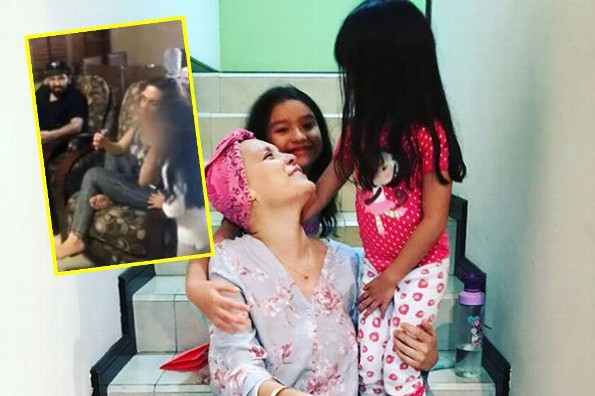 Difunden video de hijas de Karla Luna, ¡conviviendo con Karla Panini!  (+VIDEO)