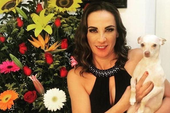 Consuelo Duval se accidenta por salvar a su perrita de ser atropellada (+FOTOS)