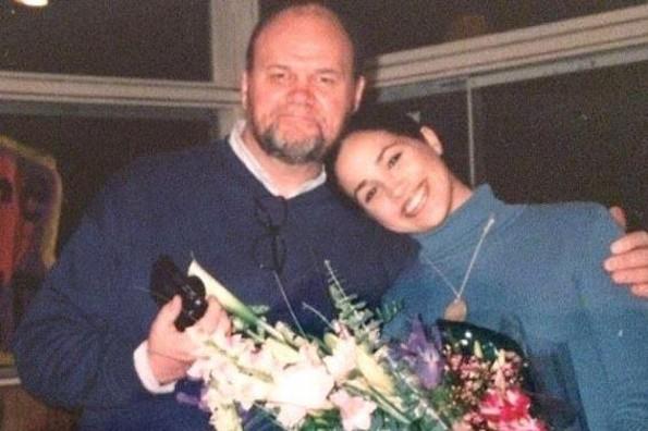 Esto dijo el padre de Meghan Markle sobre su hija en el día de su boda (+FOTOS)