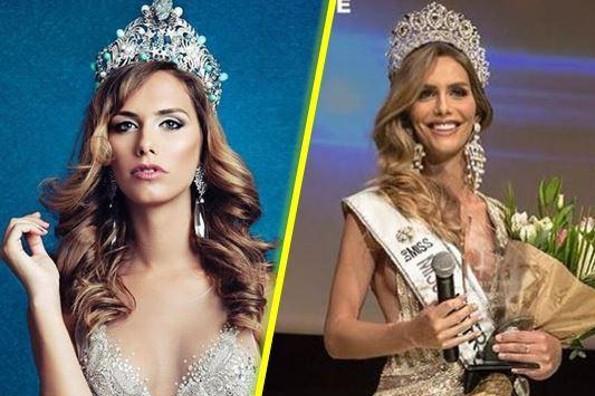 Ella es Ángela Ponce, la primera mujer transexual en ganar el título Miss España