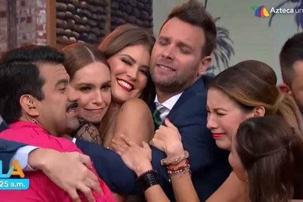 Despiden a Vanessa Claudio en Venga La Alegría (+VIDEO)