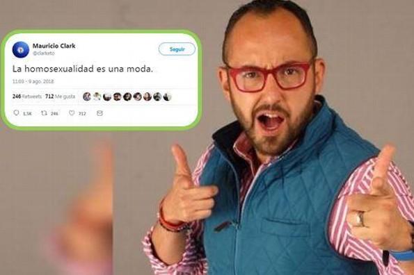 ¡Nueva polémica! Mauricio Clark asegura que la homosexualidad es una moda (+FOTO)
