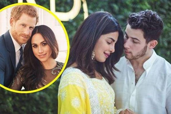 Priyanka Chopra y Nick Jonas se copian del príncipe Harry y Meghan Markle