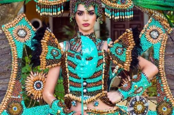 Gana México Medalla de Oro en traje típico en Miss Earth International
