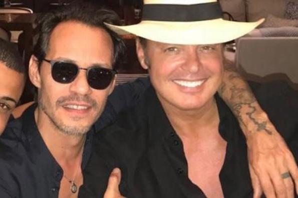 Marc Anthony y Luis Miguel se unen para lanzar tema juntos