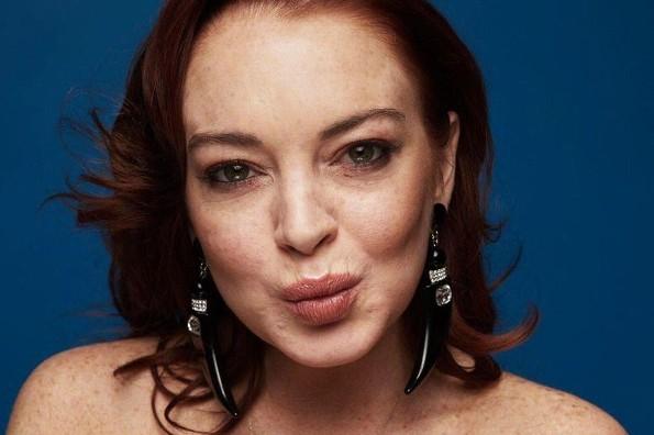 Lindsay Lohan reaparece en público bastante