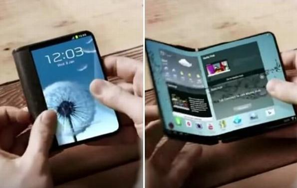 El primer teléfono plegable de Samsung podría llegar a las tiendas en el 2019