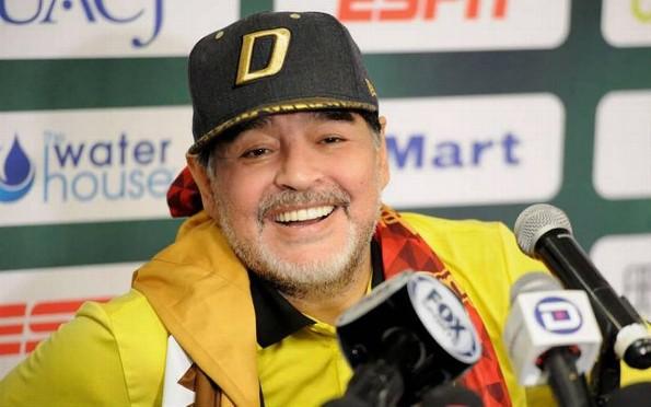 Diego Armando Maradona enfurece contra cadena de televisión ¡por hablar mal de él! (+VIDEO)