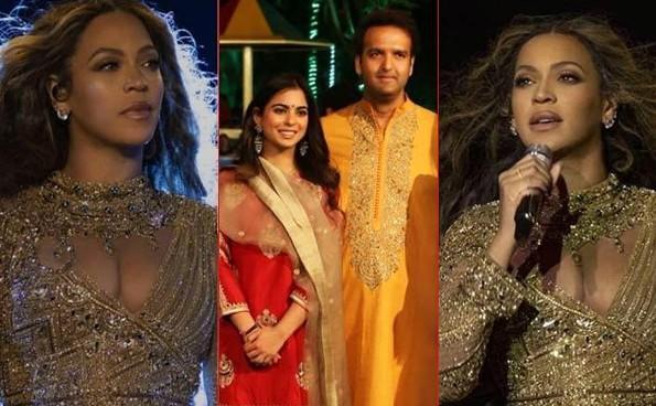 Beyoncé ofrece show privado para los más ricos de la India (+VIDEO)