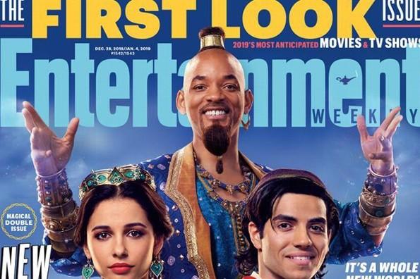 Se lanzan las primeras imágenes de Will Smith en el live action de Aladdin (+VIDEO)