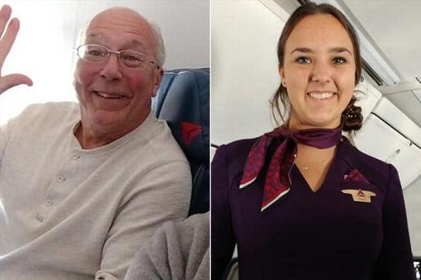 Compra 6 boletos de avión para pasar la Navidad con su hija que es aeromoza (+FOTOS)