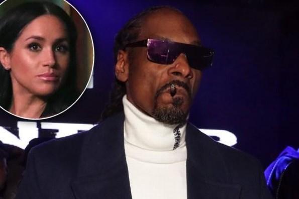 Snoop Dogg desea fumar hierba junto a Meghan Markle
