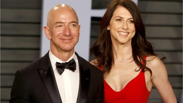 Se divorcia la pareja más rica del mundo, Jeff y MacKenzie Bezos