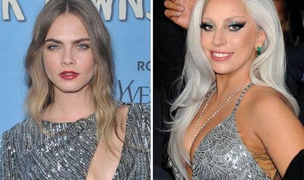 Se suman Lady Gaga y Cara Delavinge a las denuncias de abuso sexual contra de R. Kelly (+FOTO)
