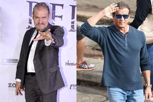 Joaquín Cosío no quiso trabajar con Sylvester Stallone en Rambo (+FOTO)
