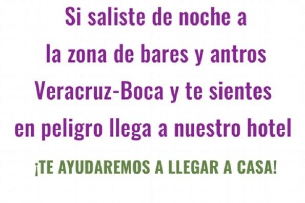 Así puedes pedir ayuda con la campaña #NiUnaMás en Veracruz