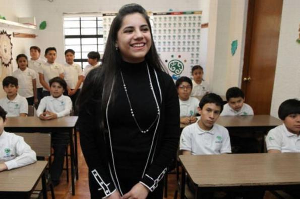 Dafne Almazán, la menor edad mexicana admitida en Harvard