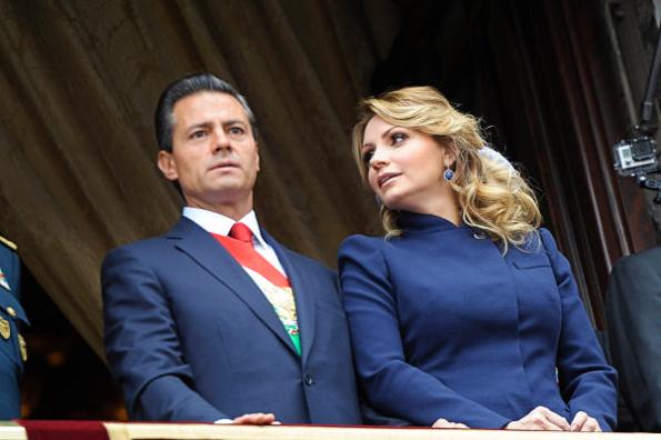 Angélica Rivera responde a los rumores de separación #VIDEO