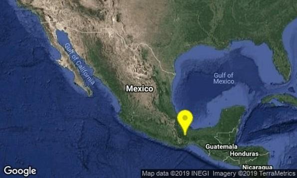Reportan sismo en Isla, Veracruz