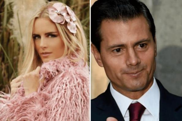 Tania Ruiz se siente juzgada por la supuesta relación con EPN #FOTO