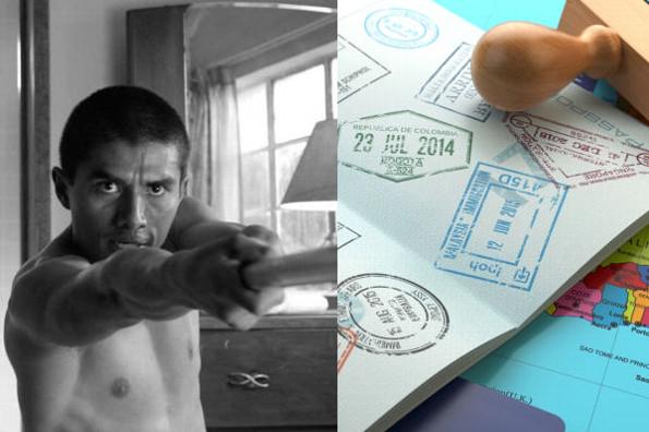 Actor de Roma consigue su visa para ir a los