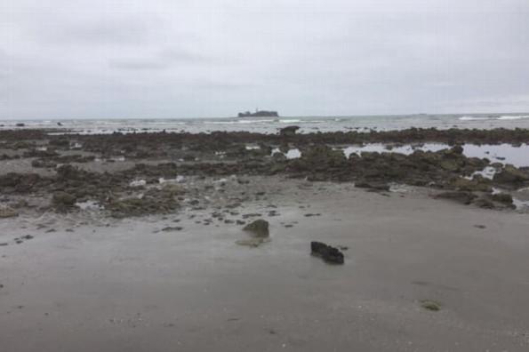 Mar de Veracruz se recorre y esta es la explicación #FOTO