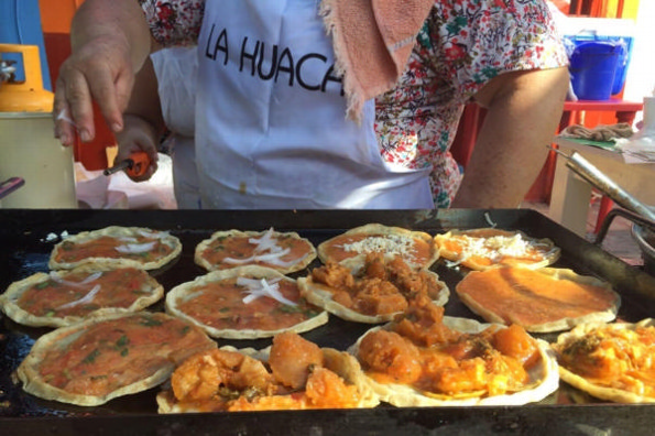 Las picadas de camarón en el Festival de la Gorda y la Picada en Veracruz