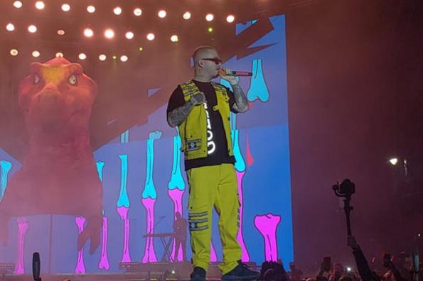J Balvin cierra con éxito el Carnaval de Veracruz 2019 #VIDEO