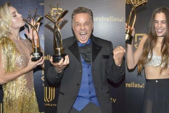 Ellos fueron los ganadores de los Premios TV Novelas
