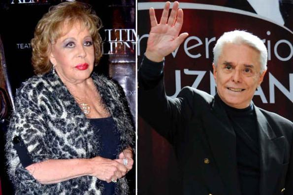 Destrozan a Enrique Guzmán por visitar a Silvia Pinal