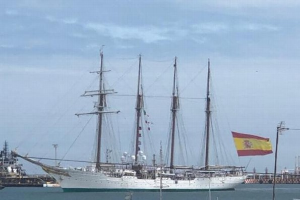 El buque Juan Sebastián visitará el puerto de Veracruz
