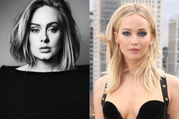 Adele y Jennifer Lawrence fueron vistas en un bar gay #VIDEO