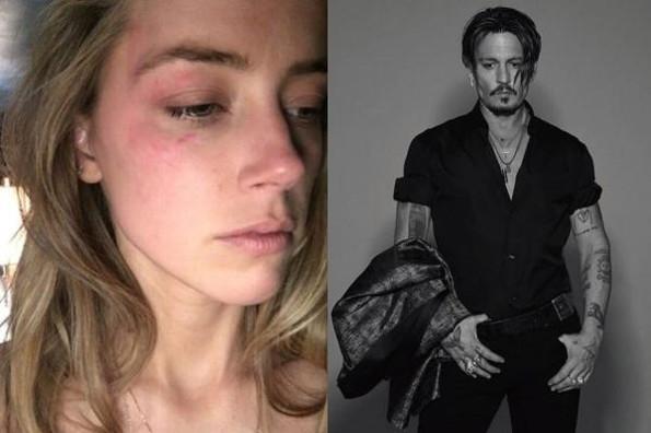 Amber Heard detalla su aterradora vida de violencia con Johnny Depp