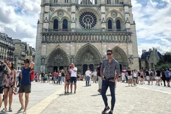 Carlos Rivera, Alejandro Sanz y más reaccionan al incendio de la Catedral de Notre Dame #FOTOS