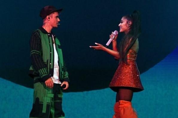 Ariana Grande cierra Coachella 2019 con Justin Bieber #VIDEO
