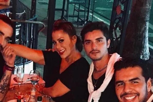 Ex de Frida Sofía niega salir con Alejandra Guzmán #FOTO