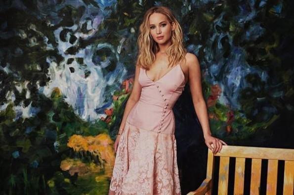 Jennifer Lawrence fue plantada en su despedida de soltera #FOTO