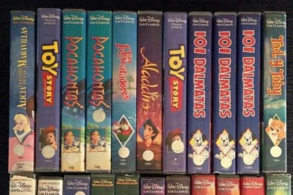 ¿Tienes viejos VHS de Disney? Podrían valer mucho dinero