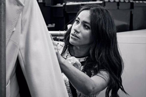 Meghan Markle se convierte en editora invitada de Vogue #FOTO